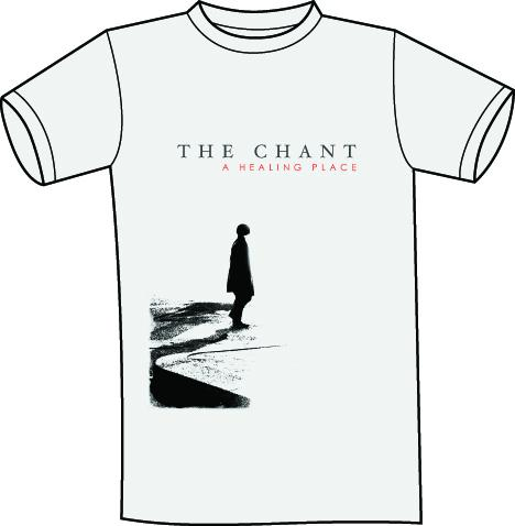 The Chant - A Healing Place cover T shirt grey