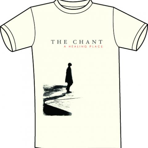 The Chant - A Healing Place cover T shirt natural white