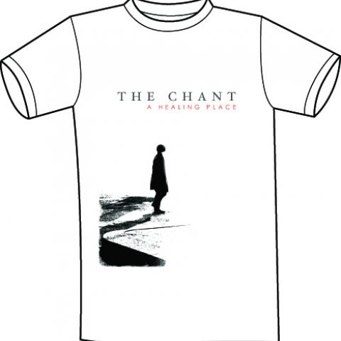 The Chant - A Healing Place cover T shirt white